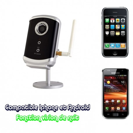camera ip wifi motorisée
