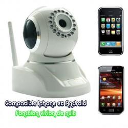 Caméra IP WIFI Camcast 500 avec vision de nuit