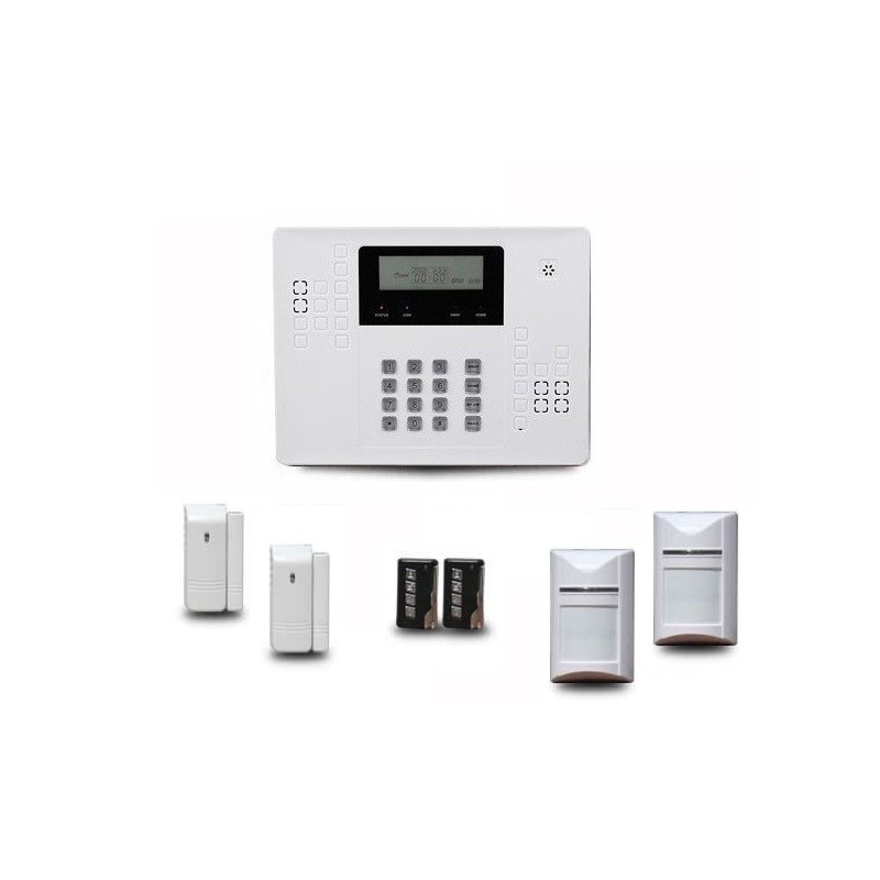 alarme maison sans fil optium ka320. Black Bedroom Furniture Sets. Home Design Ideas