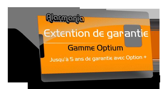 garantie alarme maison Optium