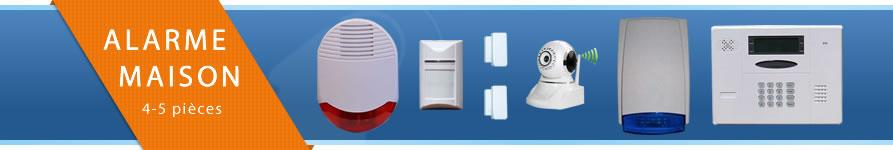 kit alarme maison pour quatre ou cinq pi ces alarmania. Black Bedroom Furniture Sets. Home Design Ideas