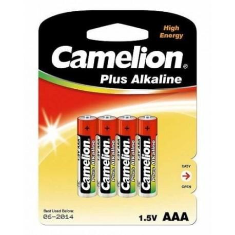 8 piles alkaline AAA LR03 pour alarme