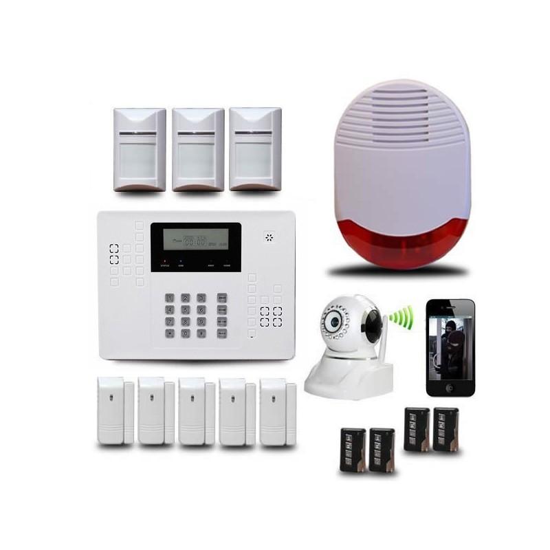 alarme gsm pas cher fabulous alarme gsm filaire nieuw filaire zones de garde sans fil gsm. Black Bedroom Furniture Sets. Home Design Ideas