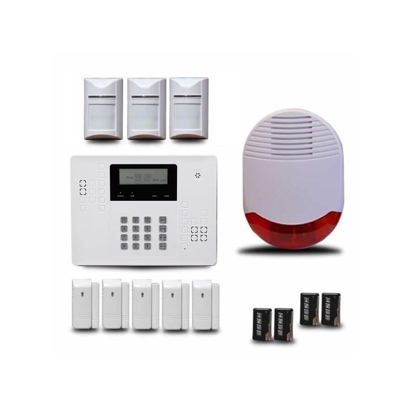 alarme maison sans fil orum ka440. Black Bedroom Furniture Sets. Home Design Ideas