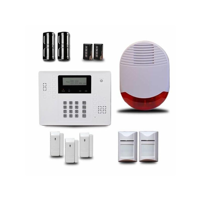 Alarme maison exterieure segu maison for Alarme pour maison individuelle