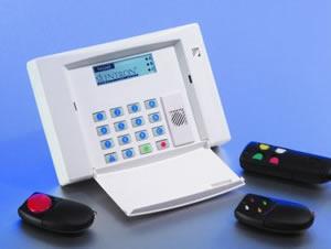 Sécurité : télécommande et clavier d'alarme